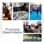 Proyectos desarrollados durante el 1º Trimestre